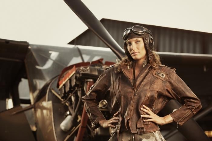 firestock 03 27112013 Девушка пилот   Girl pilot