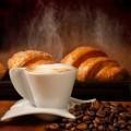 Кофе и круассан - Coffee and croissant