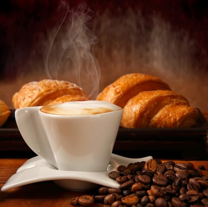 firestock 2711201326 Кофе и круассан   Coffee and croissant