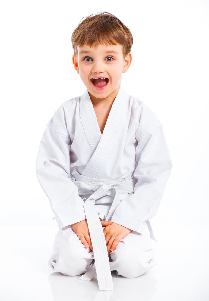 shutterstock 102854453 Мальчик каратист   Karate boy