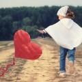Девочка с воздушным сердцем - Girl with heart air