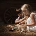 Дети с котятами - Children with kittens