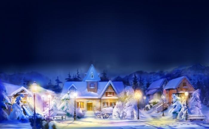 shutterstock 16933576 Новогодняя сказка   Christmas Tale