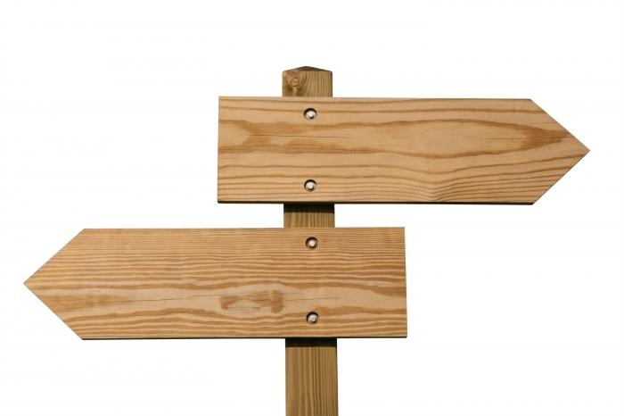 shutterstock 28059701 Деревянные указатели   Wooden signs