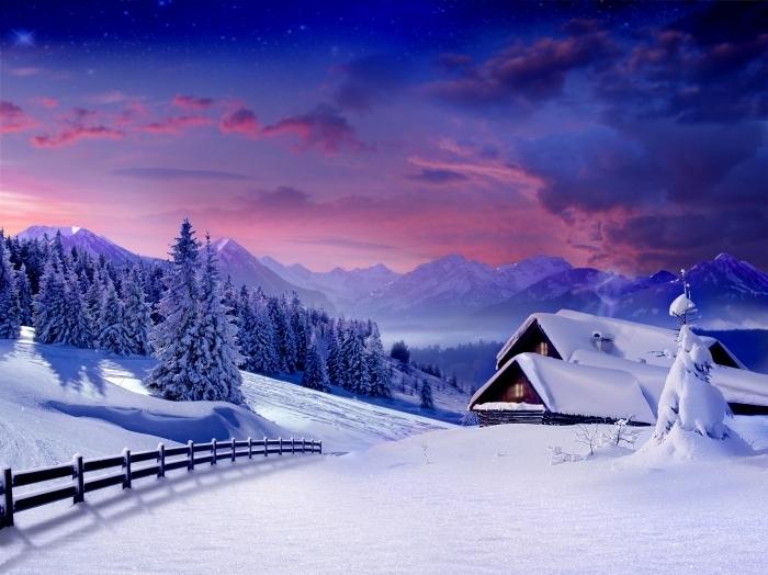 shutterstock 41991868 Снежная зима   Snowy Winter