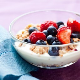 Мюсли с ягодами - Muesli with berries