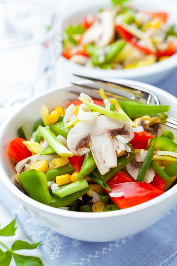 shutterstock 92237173 682x1024 Овощной салат   Vegetable Salad