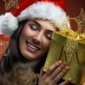 Девушка с золотистым подарком - Girl with golden gift