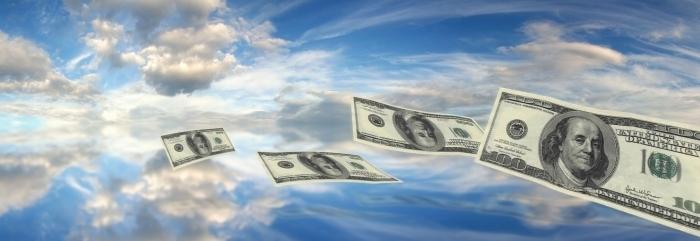 photodune 3555816 dollars falling sky m e1384871034952 Доллары в небе   Dollars in the sky