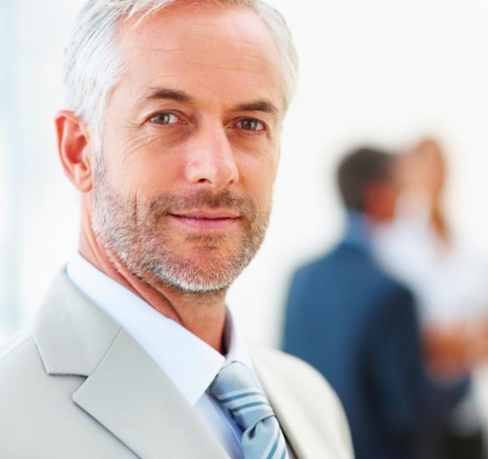 Мужчина в деловом костюме Man In A Business Suit