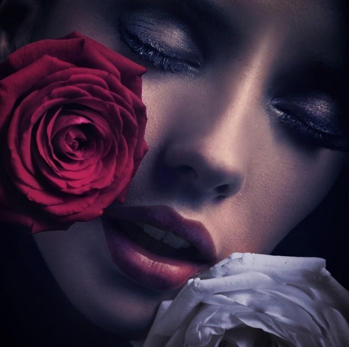 shutterstock 63101581 700x695 Девушка с розой   Girl with Rose