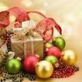 Рождественский подарок с игрушками - Christmas gift with toys