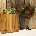 Новогодний венок и пакет - Christmas wreath and package