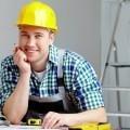 Рабочий в каске - Worker in helmet