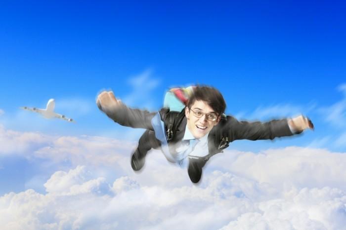 photodune 4200095 700x466 Парень в небе   Guy in the sky