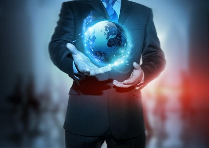 photodune 521154 700x495 Мир в руках бизнесмена   World in the hands of a businessman