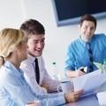 Бизнес встреча в офисе - Business meeting in office