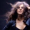Девушка с распущенными волосами - Girl with her hair