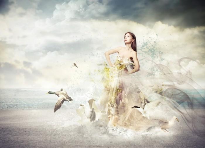 photodune 4079171 700x506 Девушка в платье cтиль 3D   Girl in dress style 3D