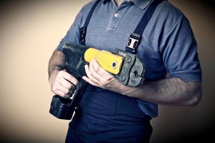 photodune 4359642 700x466 Сантехник с инструментом   Plumber with tools