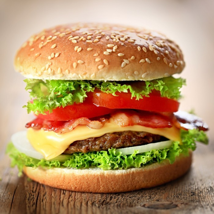 Fotolia 46647214 Subscription Monthly XL1 700x700 Гамбургер   Hamburger