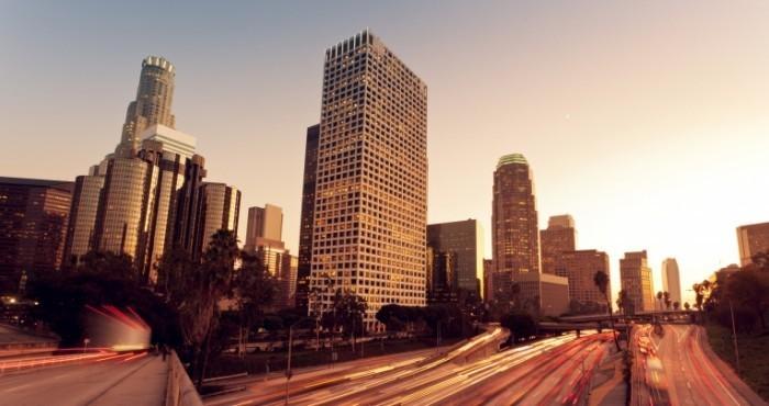 photodune 1717995 700x370 Лос Анджелес в закат   Los Angeles at sunset