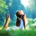 Йога на природе - Yoga in nature