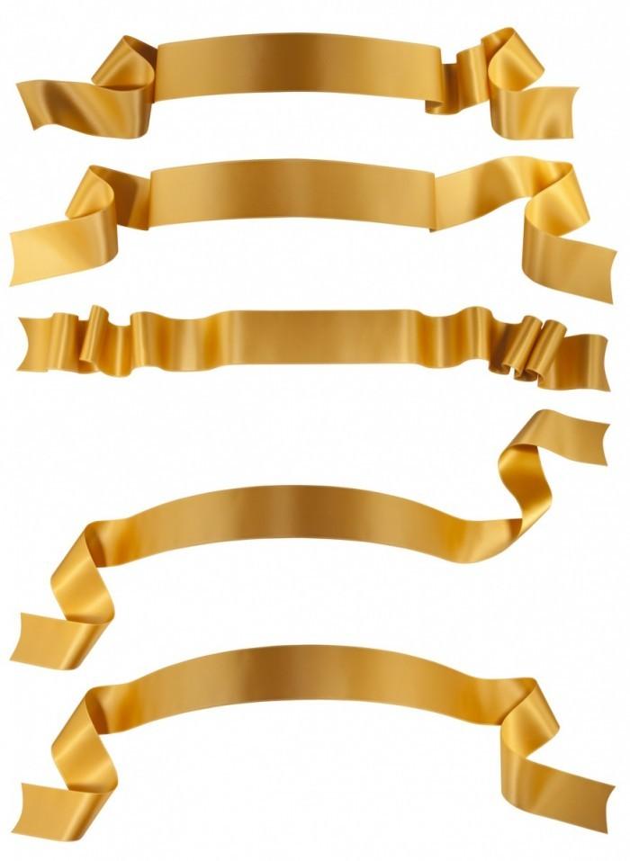 photodune 2206637 700x957 Золотые ленточки   Gold ribbons
