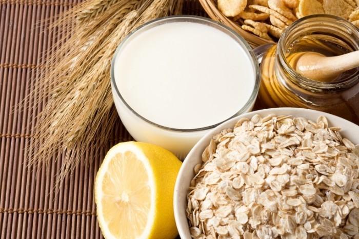 здоровое питание молоко
