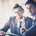 Встреча бизнесменов - Business meeting
