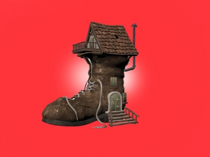 photodune 6229423 700x524 Бошмак в виде домика   Shoe House