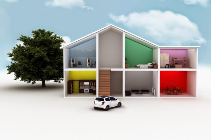 Fotolia 41898497 Subscription XL 700x465 3Д макет дома   3D model of the house