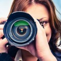 Женщина с фотоаппаратом - Woman with camera