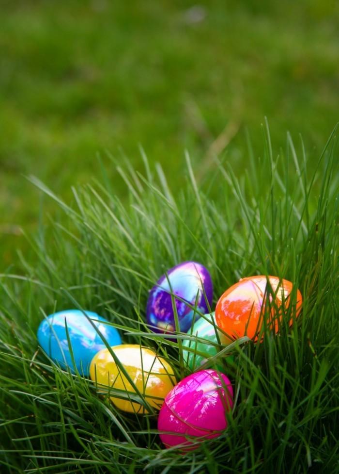 Fotolia 5664882 Subscription L 700x977 Яркие пасхальные яйца в траве   Bright Easter eggs in the grass