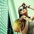 Модная девушка с аксессуарами - Fashionable girl with accessories