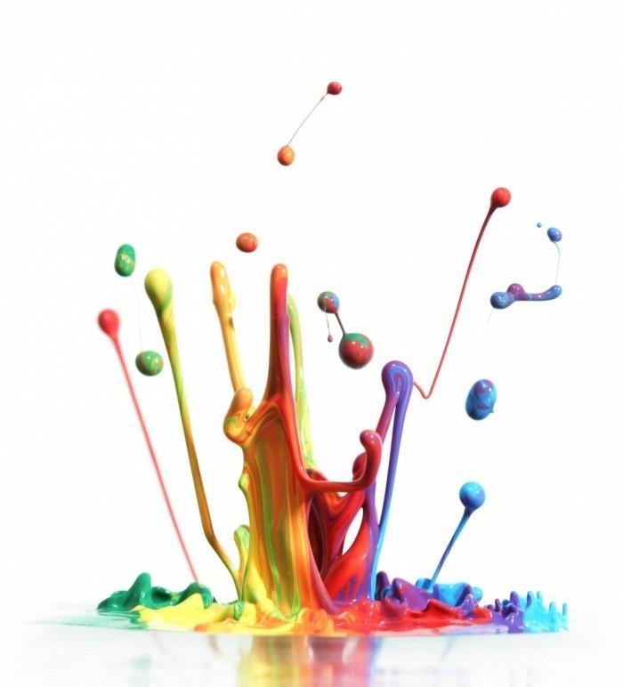 fotolia 32598418 subscription xl 700x772 Клякса из красок   Blob of paint