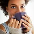 Африканка с чашкой - African with a cup