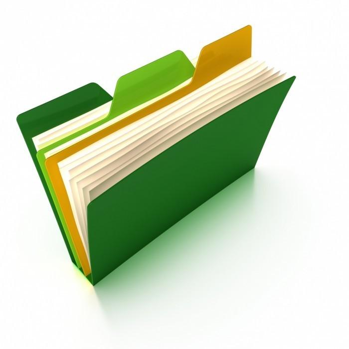 Fotolia 13302445 M 700x700 Папка с файлами   File Folder