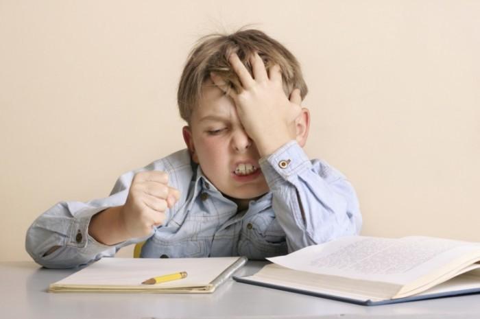 Fotolia 90797 M 700x465 Мальчик над домашним заданием   Boy on homework
