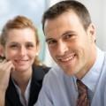 Пара деловых людей - Couple of business people