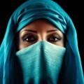 Женщина в парандже - Woman in a burqa