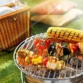 Шашлыки на огне - Kebabs on fire