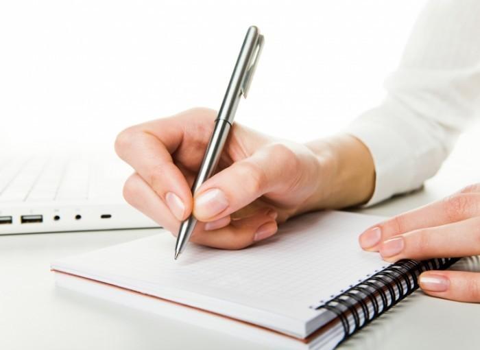 shutterstock 25659598 700x510 Ручка и блокнот   Pen and notebook