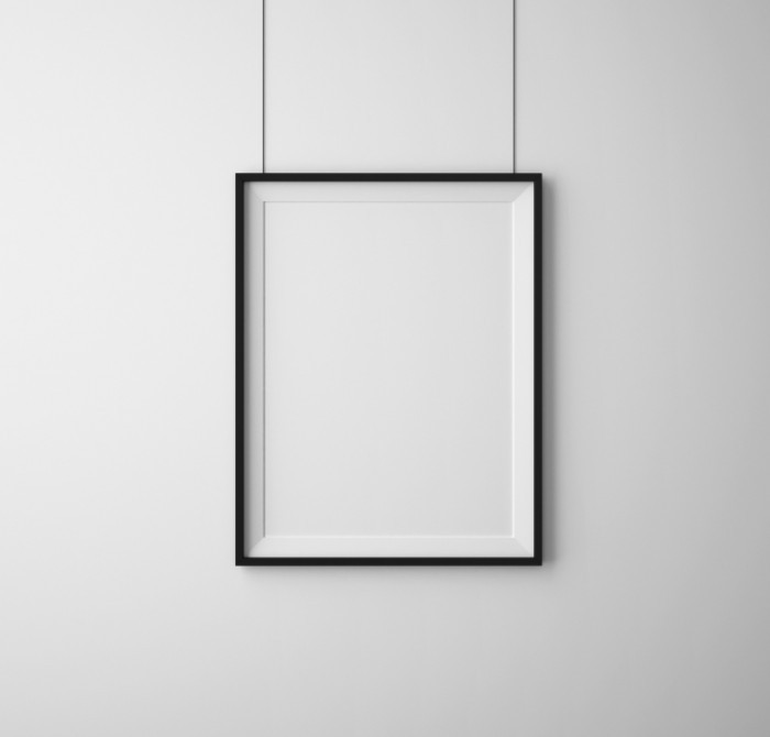 shutterstock picture frame 700x670 Рамка под фото   Frame for photo
