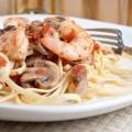 Паста с креветками - Pasta with shrimp