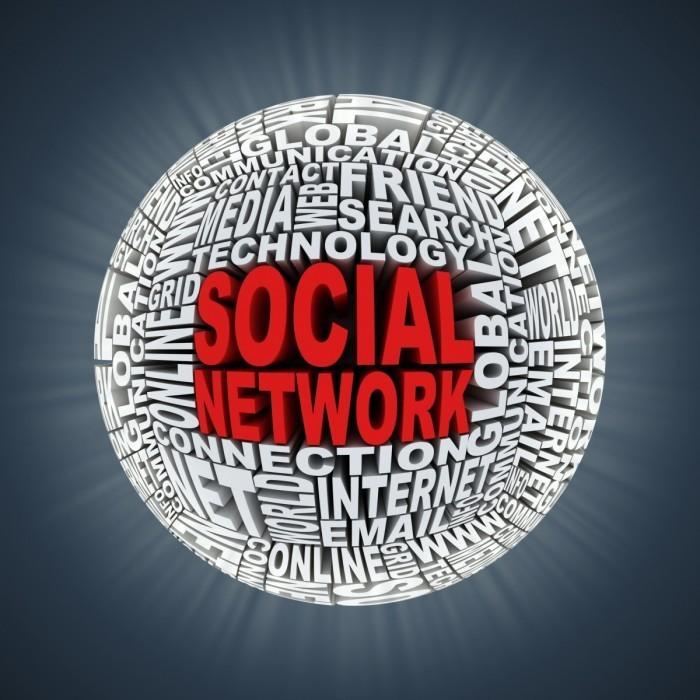 Depositphotos 9966824 original 700x700 Шар из букв с надписью социальна сеть   Bowl of letters with the word Social Network