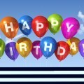 Шары Happy birthday- Happy birthday balloons