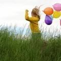 Девочка с воздушными шариками - Girl with balloons