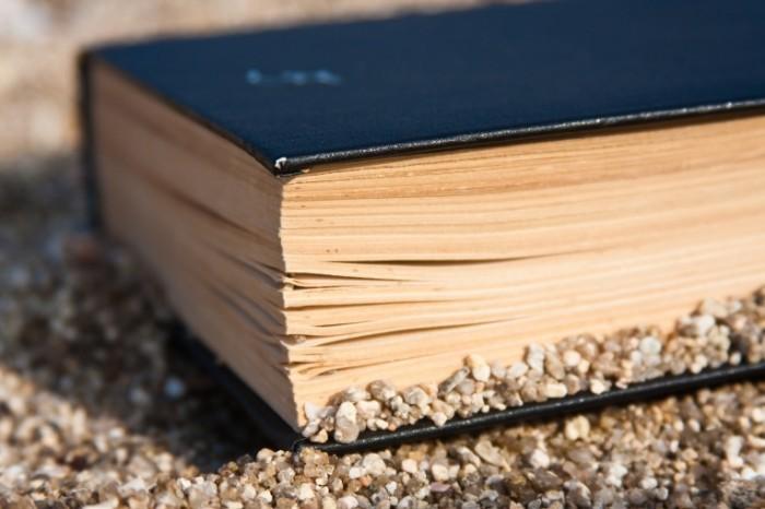 shutterstock 59807158 700x466 Книга в песке   Book in the sand