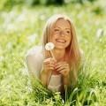 Девушка в одуванчиках - Girl in dandelions